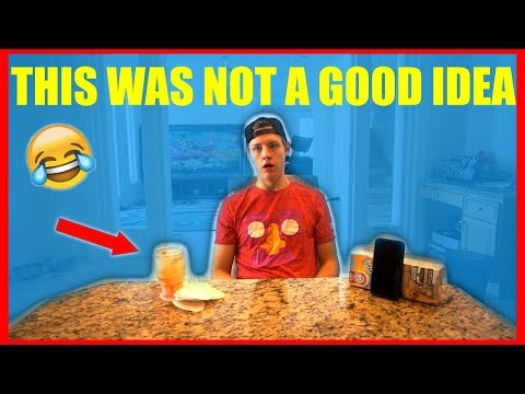 I ATE 2 POUNDS OF JELLO IN UNDER 8 MINUTES!!! (Bad Idea)