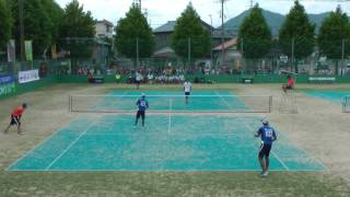 '17 全日本実業団ソフトテニス選手権大会 男子 5回戦 8-3