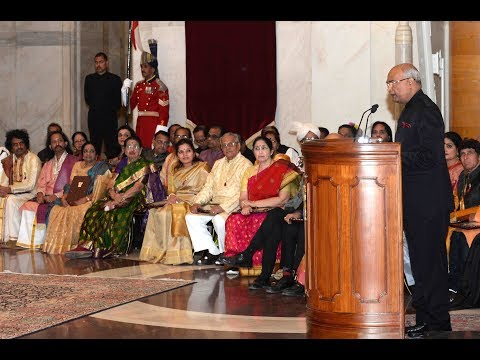 President Kovind addresses winners of Sangeet Natak Akademi Awards