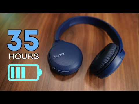 Sony WH-CH510 Bluetooth 5.0 headphone, Google Assistant, 35 hours usage time