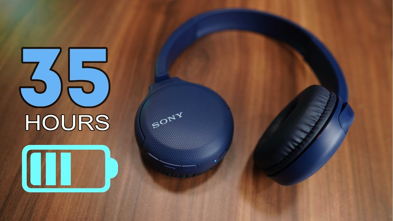 Sony WH-CH510 Bluetooth 5.0 headphone, Google Assistant, 35 hours usage  time - YouTube