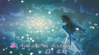 愛你的宿命 - 巧兒vs蕭敬騰 (合唱MV字幕製作)