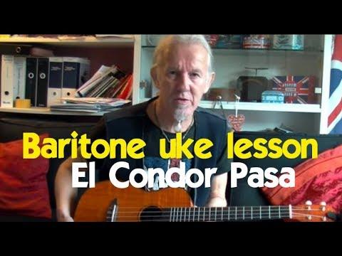 Baritone Ukulele How To Play El Condor Pasa Youtube