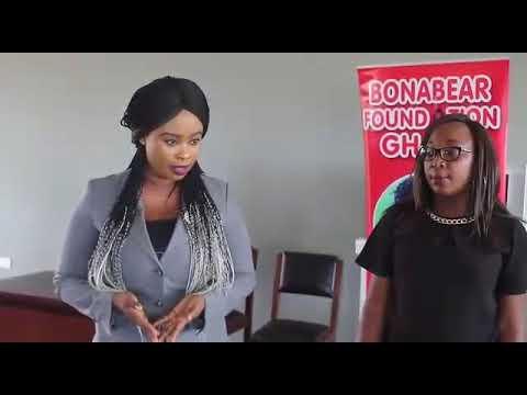 Bonabear Foundation Ghana and Faytex Sanitary Pad @ Able Academy