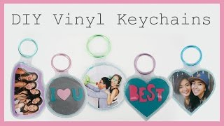 DIY Vinyl Keychains | EASY @coolirpa
