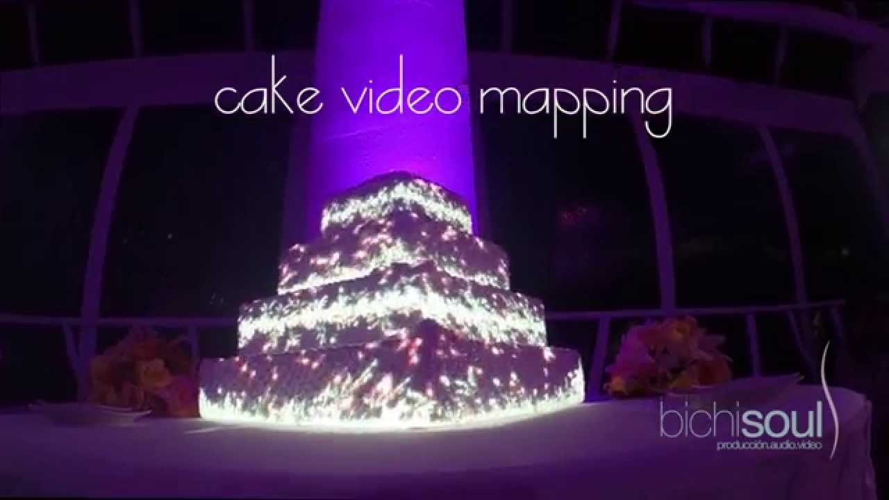 Cake Mapping Video Mapping Sobre Pasteles Youtube