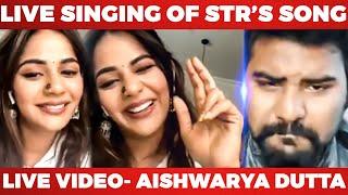 Galatta's Live With Bigg Boss Aishwarya Dutta | Live singing | Ashiq Interview