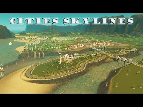 Cities Skylines: Episode 10 - Exotic Decoration, Luxury Island Services and Intelligent Citizens