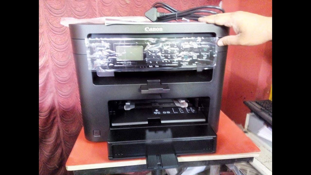 Unboxing Canon MF221D (Print, Copy, Scan, Duplex) Printer Review