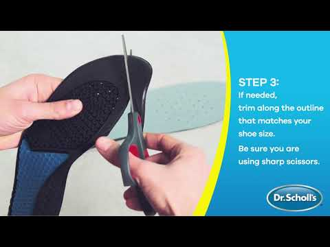 Dr. Scholl's | How To Use Work Insoles