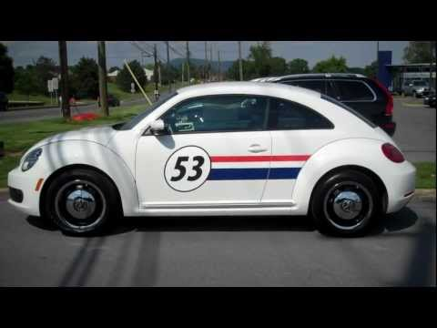 """Herbie"" 2012 Volkswagen Beetle 2.5L PZEV VW"