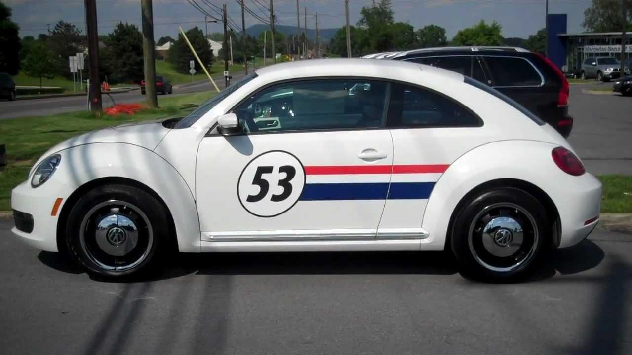 """Herbie"" 2012 Volkswagen Beetle 2.5L PZEV VW - YouTube"