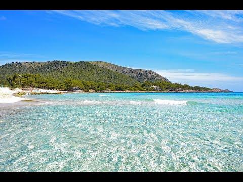 Mallorca Cala Millor 2017 Strand Promenade und Meer Fincallorca