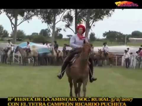 OCTAVA FIESTA DE LA AMISTAD 2017 RICA PUCHETA - CABLE SUR TV