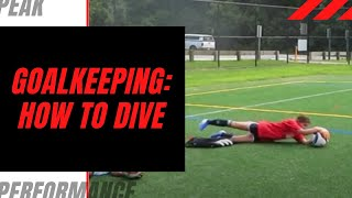 Goalkeeper Training: How To Dive