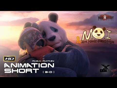 "CGI 3D Animated Short Film ""ME AND MY PET PANDA"" - Adorable Animation Cartoon for Kids by ArtFX"