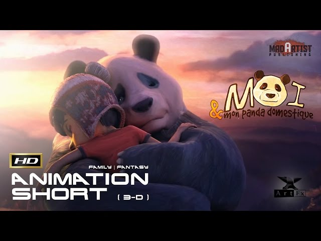Me And My Pet Panda | 3D Animation - What would you do with a panda as a pet? (ArtFX)