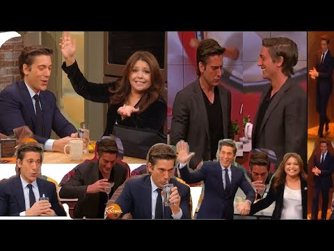 DAVID MUIR, Guests on Rachael Ray and The Chew (2017)