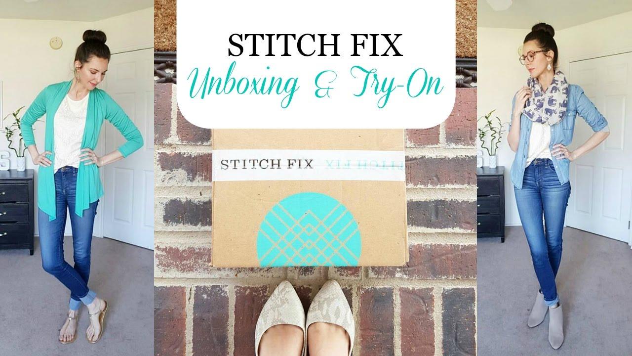 348a531e13b My First Stitch Fix - Unboxing