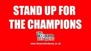 Stand Up For The Champions - Manchester United Boys