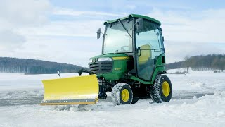 John Deere Dieseldriven åkgräsklippare Professionell grönyteskötsel