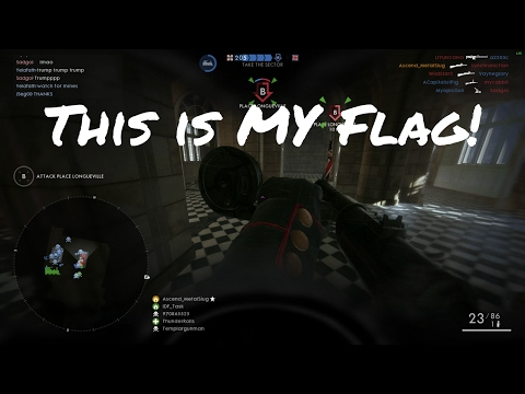 This is MY Flag | My Best Battlefield 1 Clip so Far! | 4,000+ Point Stack