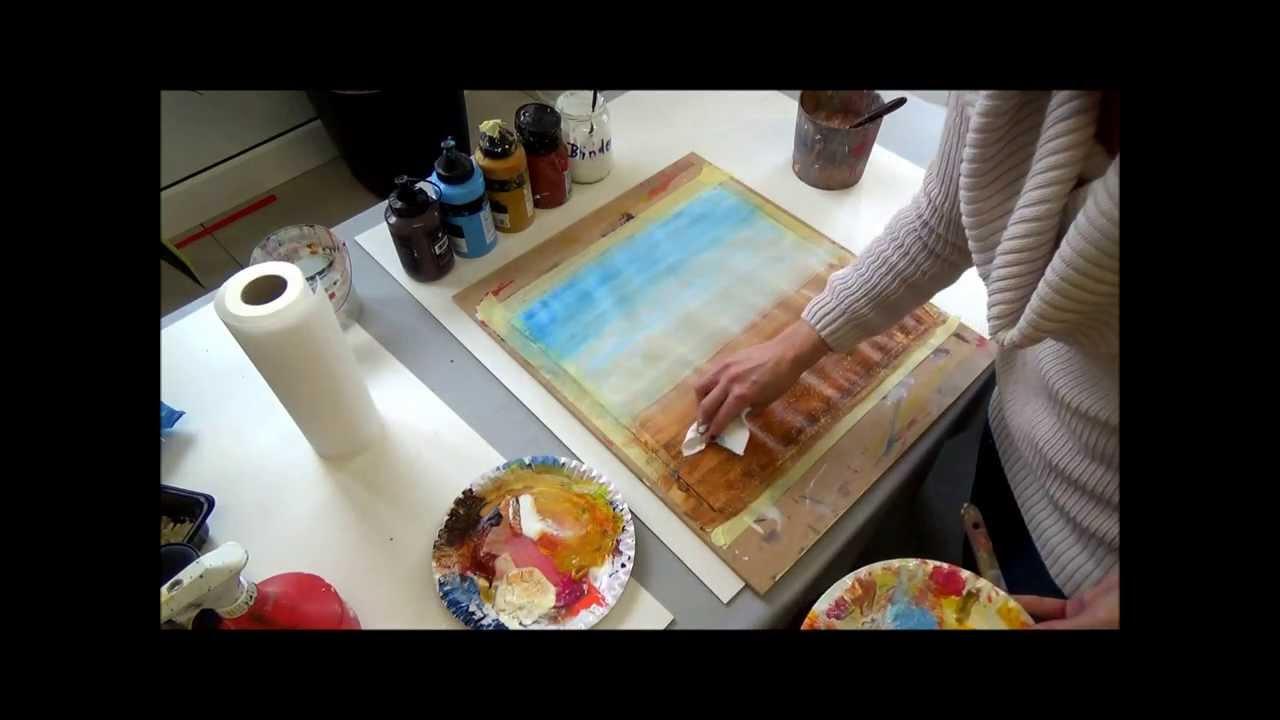 Shades Of Grey Abstraktes Bild In Grautonen Youtube