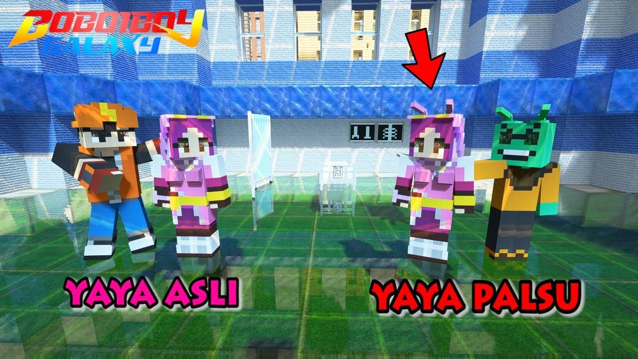 Terungkap! Yaya Palsu Adalah Alien, BoBoiBoy Terkedjoet - Minecraft BoBoiBoy Mod