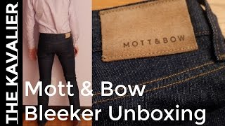 Unboxing Mott & Bow 13oz Bleeker Jeans | Denim Review