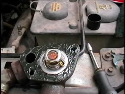 1992 Ford F-150 Pickup thermostat replacement - YouTube  Ford F Engine Parts Diagram L on