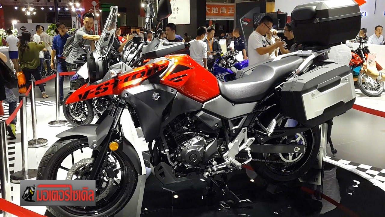 V Strom 250 เฉือน Versys 250 Tracer 250 CB250X ชิงเปิดตัว Adventure ค่ายแรก  : Motorcycle Tv   YouTube