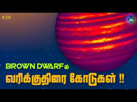 Brown dwarf நட்சத்திரத்தில் வரிக்குதிரை போன்ற கோடுகள் கண்டுபிடிப்பு   Stripes on Brown Dwarf star