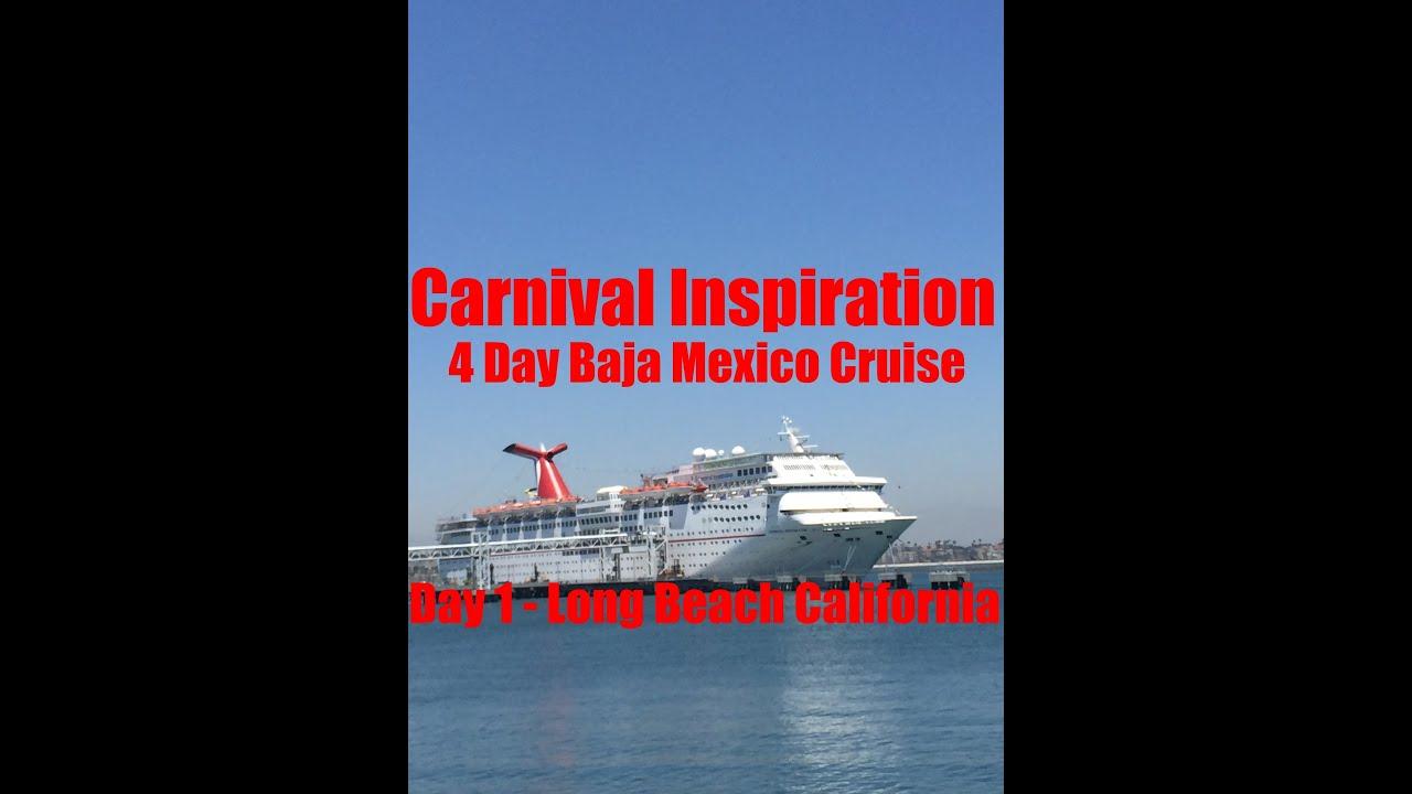 Carnival Inspiration Vlog 2015 Day 1 Long Beach 4