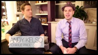20 Questions in 2 Minutes with Kinky Boots Star Andy Kelso