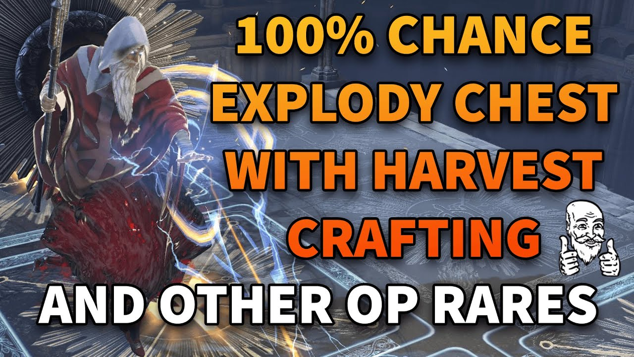 100% Chance To Craft Explody Chest + Mirror Tier Item Crafting Guide - Path of Exile 3.11 Harvest