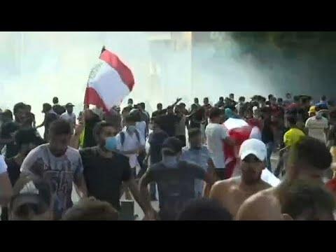 احتجاجات في بيروت والأمن يطلق القنابل المسيلة للدموع باتجاه المتظاهرين…  - نشر قبل 3 ساعة