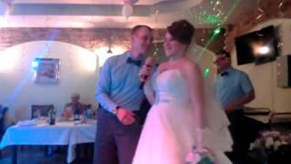 Рэп от невесты.