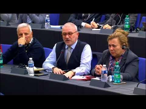 Съвместна пресконференция в Страсбург с председателя на Европейския парламент Антонио Таяни