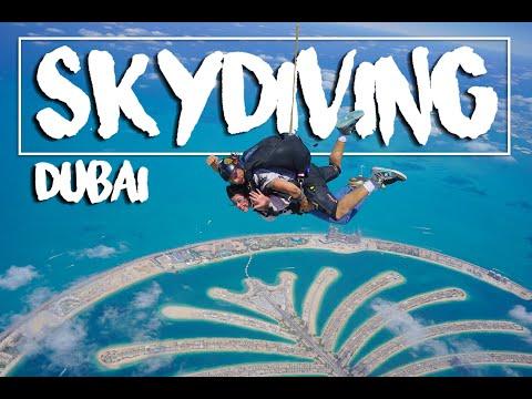Skydive Dubai-Palm I The craziest experience ever I Mi primer salto en paracaidas