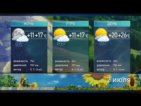 Прогноз погоды на 2 июля. Похолодание и дожди вытеснят жару