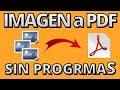 Cómo Convertir una Imagen a PDF - YouTube