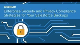 Enterprise Security and Privacy Compliance Strategies for Your Salesforce Backups