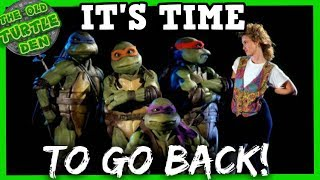 TMNT 2020 Movie Reboot. Continue The 1990 Turtles' Story?