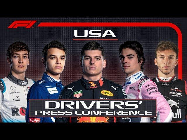 2019 United States Grand Prix: Pre-Race Press Conference