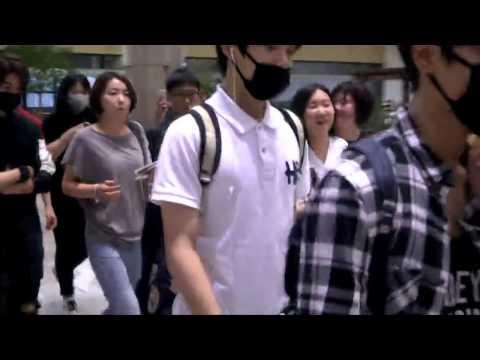 [150724] SM rookies (SM루키즈) @ the Airport heading to japan