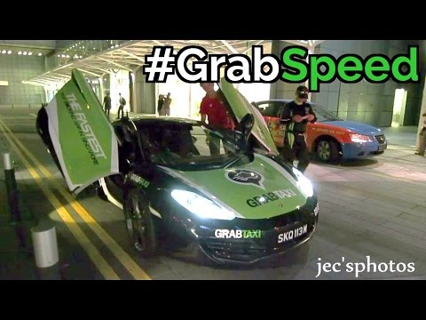 #GrabSpeed - Singapore Supercar Taxi Service