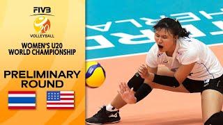 THA vs. USA - Full Match   Women's U20 Volleyball World Champs 2021