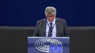 Intervento in Plenaria a Strasburgo dell'europarlamentare Pietro Bartolo sulle conclusioni del consiglio europeo e sulla missione di ricerca e soccorso in mare.