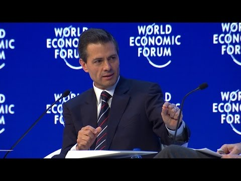 Davos 2016 - Special Conversation with Enrique Peña Nieto, President of Mexico