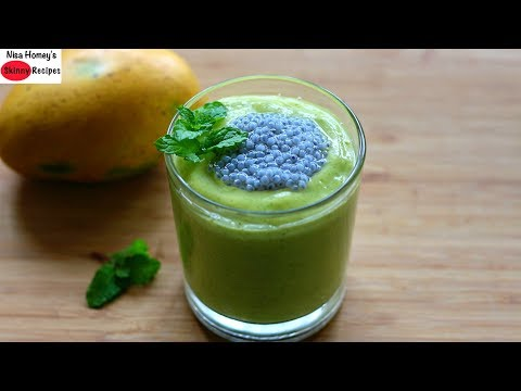 Summer Weight Loss Lassi - How To Lose Weight Fast With Curd - Weight Loss Mango Lassi Recipe